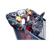 large protège chariot bébé noir