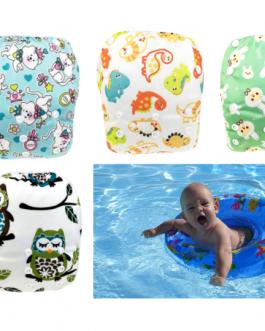 couche ajustable maillot de bain bébé nageur