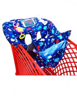 Protège caddie de supermarché pour bébé , avec ceinture de sécurité